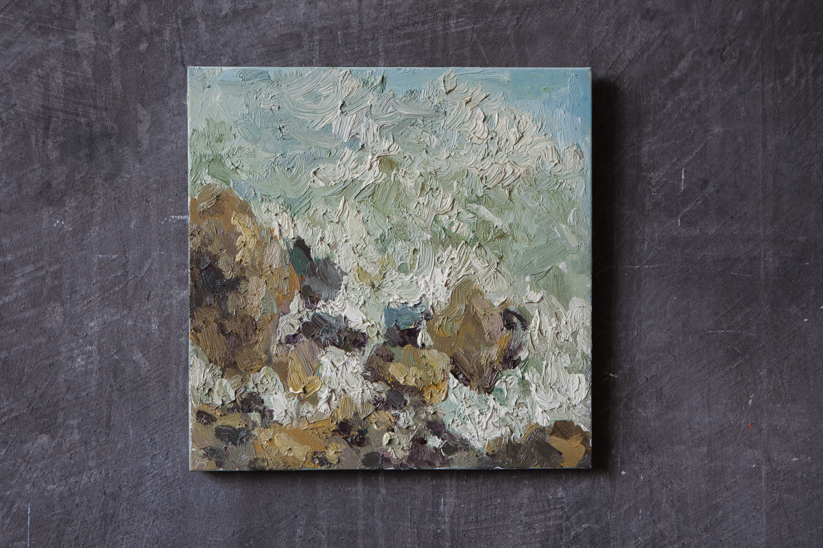 Series «sea/sky», 40-40cm